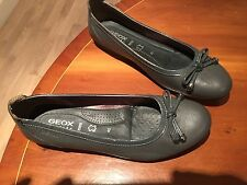 Geox Respira Ladies Leather Ballet Flats Size 42 New