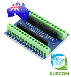 Arduino Nano V3.0 Screw Terminal Adapter Module Board