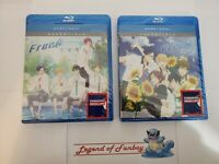 Free! Iwatobi Swim Club Season 1 + 2: Eternal Summer - Blu-Ray + Digital * New