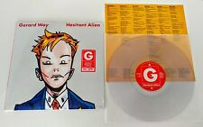 GERARD WAY Hesitant Alien LP my chemical romance.head automatica CLEAR VINYL NEW