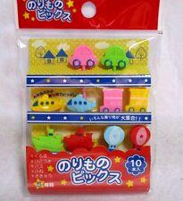 Japanese Lunch Box Bento Food  Picks Car Plane Ship etc 5kinds 10pcs  KAWAII!!