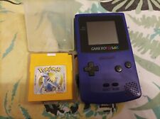 Nintendo Game Boy Color Handheld-Spielekonsole - Lila mit Silver Edition ( USA)