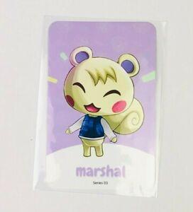 Amiibo NFC Karte Animal Crossing Huschke/Marshal 264