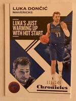 Luka Doncic SP/149 Red Chronicles Parallel 2019-20 Chronicles Basketball #15