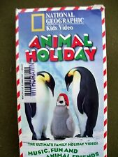 National Geographic Kids Video - Animal Holiday (VHS, 1998) HARD TO FIND!!!!!!
