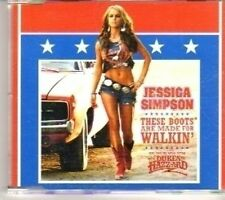 (CT303) Jassica Simpson, These Boots Are Made For Walkin - 2005 DJ CD