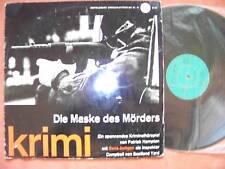 Die Maske des Mörders  alte Bertelsmann LP  klasse