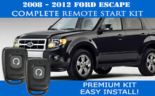 Fits: Ford Escape Remote Start Complete Kit 2008-2012  - Easy Install!