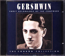 George GERSHWIN 1898-1937 Piano: Condon Collection CD Rhapsody in Blue Donaldson