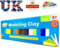 15 Colours Modelling Clay Strips for Children Kids Art Craft Plasticine Party
