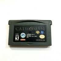 Catwoman - Game Boy Advance GBA Game - Tested Working Authentic