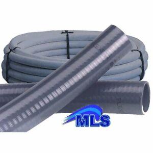 Poolflex Flexschlauch Flexibles PVC Rohr 50 mm für Schwimmbad / Pool / Teich