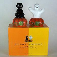 Halloween salt & pepper set-Made by Treasure Craft.