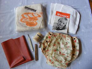 DDR Baby Pflegeset mit Windelhose von baby-chic und WUNDEX  60er Jahre