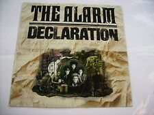 ALARM - DECLARATION - LP VINYL PORTUGAL 1984 EXCELLENT CONDITION