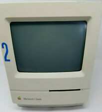 Vintage Apple Macintosh Classic M0420 All In One Computer  Parts