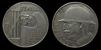 pci1068) Italia regno Vittorio Emanuele III lire 20 Elmetto 1928