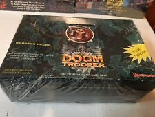 Doom Trooper Doomtrooper LIMITED Booster Box  Sealed 1st Edition