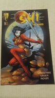 Shi The Series #9 April 1998 Crusade Comics Tucci Snieegoski Green Novin