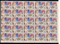 Sowjetunion, Postwesen in der UdSSR MiNr. 4672 Bogen, 1977**