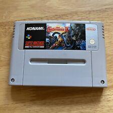 Castlevania IV 4 - SNES Super Nintendo - PAL UKV - Cart Only Genuine