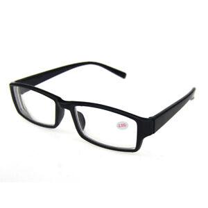 Short Sighted Glasses  Eyewear Distance Near Sight Lens -1.0~ -6.0 Black Frames