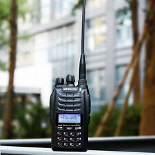 New Walkie Talkie 2-Way Radio Dual PTT Cross-Band Repeater UHF+VHF 128CH VOX+No