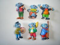 MUSICAL PIGS BAND BOUCHER FIGURINES SET - FIGURES COLLECTIBLES MINIATURES