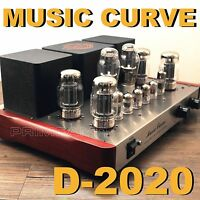 XiangSheng MUSIC CURVE D-2020 KT88 x4 Push Pull Vacuum Tube Integrated Amplifier