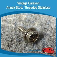 Caravan ANNEX STUD THREADED STAINLESS  ( X4 ) Vintage Viscount Millard other