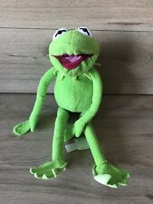 """KERMIT THE FROG  - DISNEY STORE BEANIE PLUSH TOY LARGE 17"""" - the muppets"""
