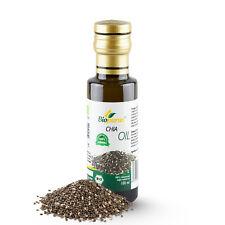 Certified Organic Cold Pressed Chia Seed Oil 100ml Biopurus