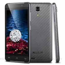 "XGODY Unlocked 3G Smartphone G10 Black 4.5"" Dual SIM 4 Core Android Cell Phone"