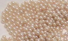 Little Vintage Pearls Off White Ecru Color 3.5mm and 4mm...Hundreds!