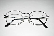 LANDOLFI Black Eyeglasses by Ambassador Mod L8070 Metal Frame 52 18 150 Used