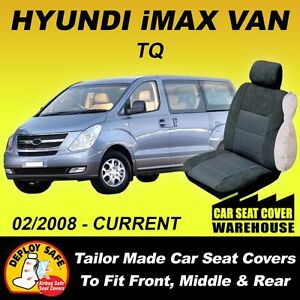 Car Seat Covers Fit HYUNDAI IMAX i MAX iMAX Front & Middle & Rear 2008-Current
