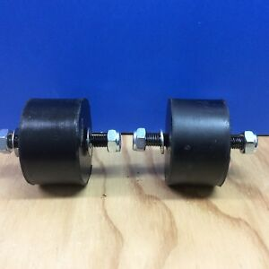 Volvo 122 1800 P1800  Motor Mounts  New set of  2 with washers and  nuts