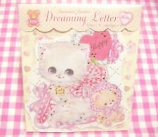 Clothes Pin / Lovely Cat Dreaming Mini Letter Set / Japan Stationery Bear