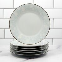 "Noritake Ravel 2213 Set of 6 Salad Plate Dinnerware Tableware Japan 8 1/4"" 21cm"