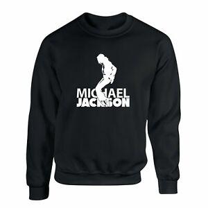 Michael Jackson Sweater King of Pop Moonwalk Jumper Dance Sweatshirt S - 2XL