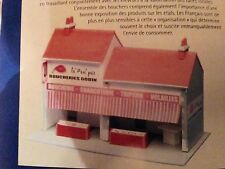 MKD Boucherie HO maquette immeuble maison village de France # 19, 20 & 21 FALLER