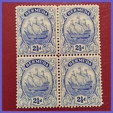 Mint Hinged Postage Bermudian Stamps