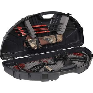 Plano SE Series Compact Bow Case Black Locking Hunting Archery Quiver