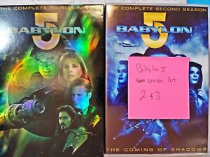Missing Disc** BABYLON 5 COMPLETE SEASON 2,3 DVD TV SERIES