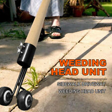 Weeds Snatcher Weeder With Wheel Weed Puller Tool Remove Gardening Grass Trim LU