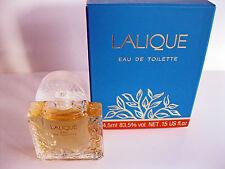 Lalique Eau de Toilette Miniature Vintage Blue Box ! Rare..