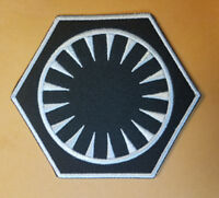 Star Wars First Order White Uniform Patch 3 1/2 inches tall patch