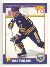 1991 Score Kellogg's Hockey - #6 - Pierre Turgeon - Buffalo Sabres