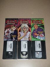 Lot Of 3 VHS Yu-Gi-Oh Special Edition Double Duel Awakening Of Evil Mind Game