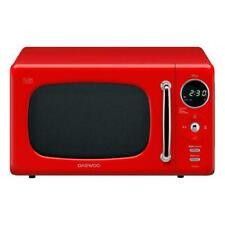 DAEWOO RETRO MICRO WAVE OVEN BRILLIANT RED BRAND NEW ORIGINAL BOX